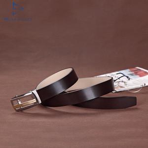 Blu Flut New Business Custom Buckle Top Grain Leather Ratchet Belt, Leather Belts India