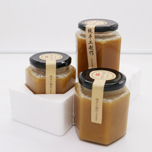 Chinese raw pure nature fruit flower jar bottles bee royal honey products