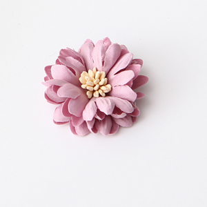 Colorful Flower Corsage for clothing flower applique for hair accessory