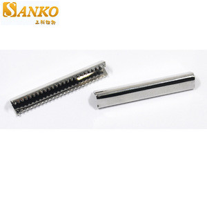 Custom size high quality metal belt end clip belt end tip