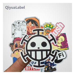 Custom vinyl sticker,color printed die cut pvc sticker label