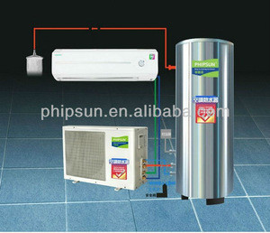 Domestic air conditioning water heater