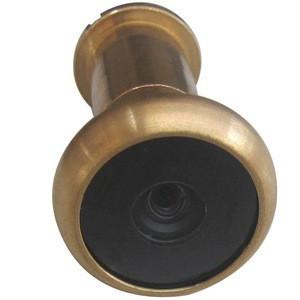 Electronic Brass Peephole Viewer Camera (13.8mm diameter;90deg view angle;0.008lux)
