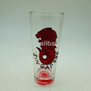 Glass souvenir gift gun cup crafts