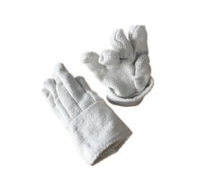 Heat Insulation Refractory Ceramic Fiber Finger Gloves