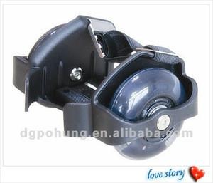 High quality adjustable size Flashing roller skate wheels