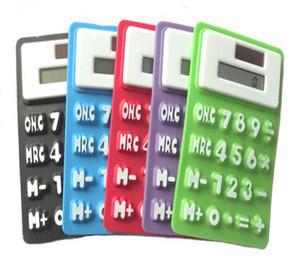 High quality flexible silicone calculator /silicone solar calculator/flexible rubber calculator