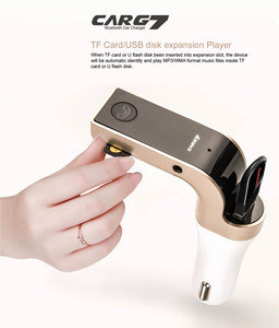 Hot Sale Fm Transmitter Car Charger Wireless Handsfree Bluetooth Car kit With Car Kit MP3