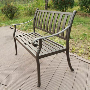 Hot Selling good Quality patio metal garden bench parts