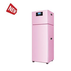 Household mini inverter split  air source heat pump water heater
