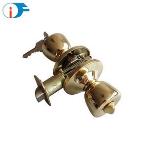 ISO9001 New Fancy Hardware Big Trumpet Types of Round Knob Door Locks