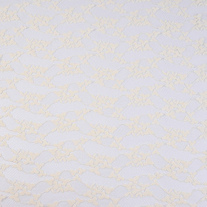 Jacquard knit chenille mesh fabric for clothing