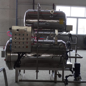 Large commercial sterilizing pot Sterilization for canned products