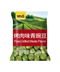 Leisure grilled Meat Flavor Green Peas snack foods
