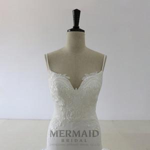 Luxury fish cut sexy mermaid wedding dress