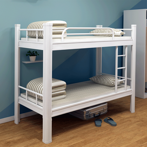 Manufacturer Steel tube metal double bunk beds for army or school
