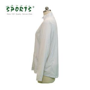 OEM ODM womens woven light weight fabric skin soft shell waterproof jacket with night light print