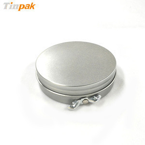 Premium empty round shoe polish tin wholesaler