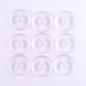 Silicone Door Knobs Bumper Guard Self Adhesive Wall Shield and Silencer Rubber Door Stopper Wall Protectors for Door Handles