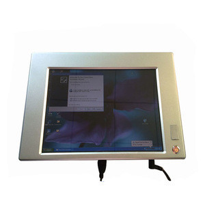 Silvery Multi-touch All In One Desktop Computer With 12.1Inch Panel