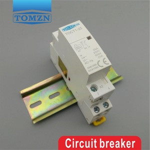 TOCT1 2P 25A 1NC 1NO 230V 50/60HZ Din rail Household ac contactor one normal open and one normal close