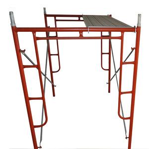 TSX powder coated H scaffolding ladder frame scaffold