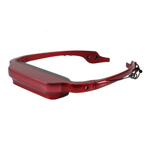 VGA(640X480) Hot Sexy Six 3D Video Glasses HD Player with Video Recording AV in