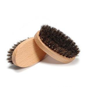 Wholesale Wooden Soft Boar Bristle Beard Brush