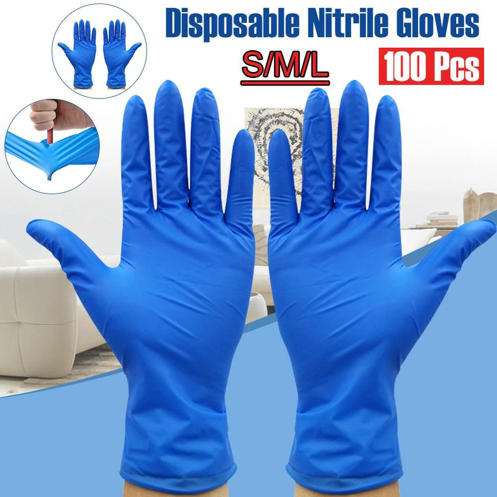 Disposable Nitrile Exam Hand Gloves
