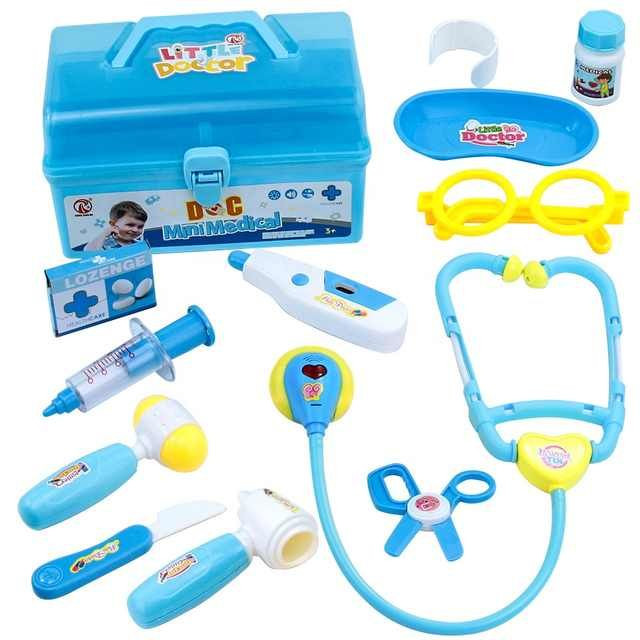 Doctor Kit for Kids with Stethoscope Medical Set Toys Role Pretend Play for Toddlers