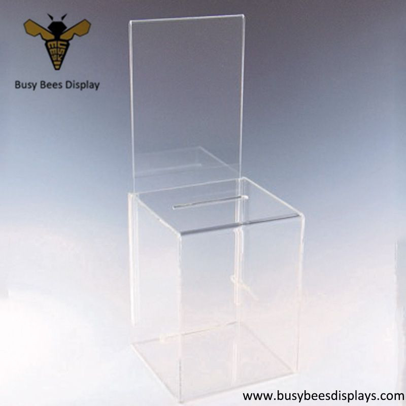 Acrylic Suggestion Display Holder Box