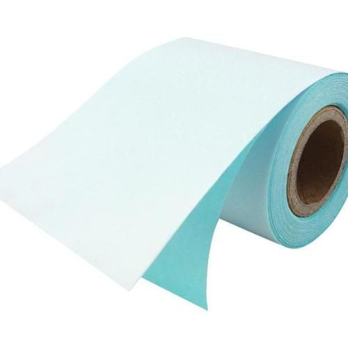 Economy Top Coated Self Adhesive Direct Thermal Label Material In Jumbo Roll For Supermarket Labels