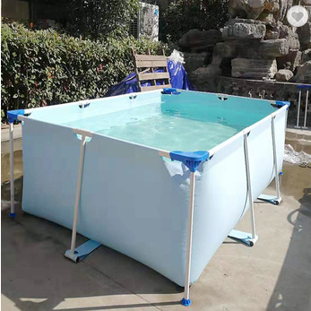 Easy Set Up Steel rectangular swimming pool cheap pool