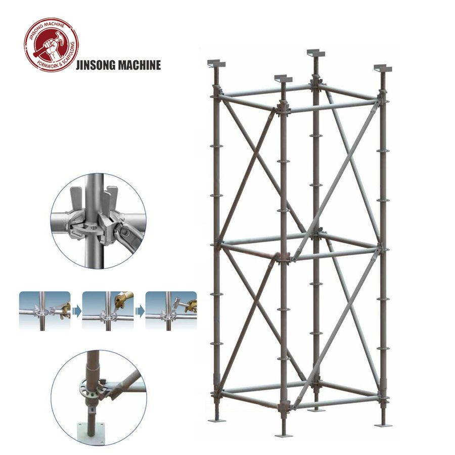 Construction Steel Ringlock Scaffolding Parts