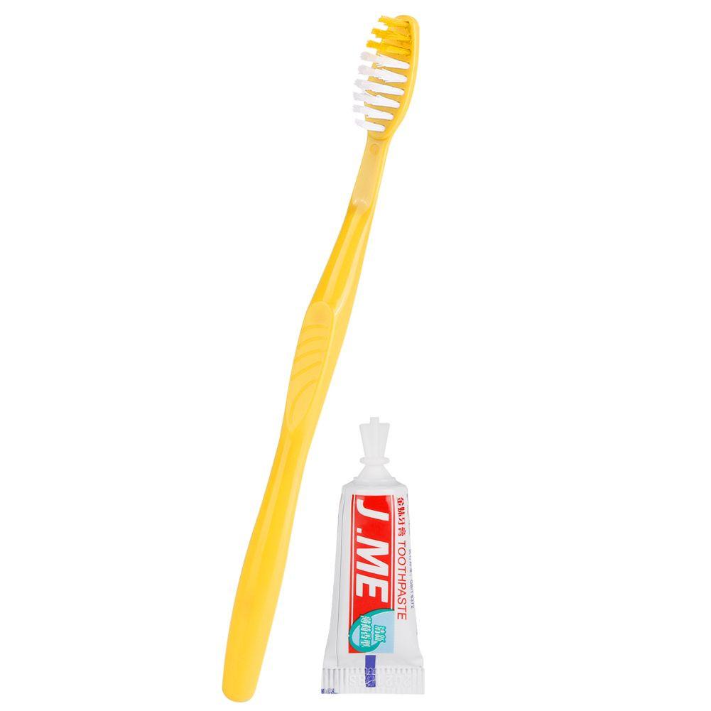 Long Bamboo Toothbrush
