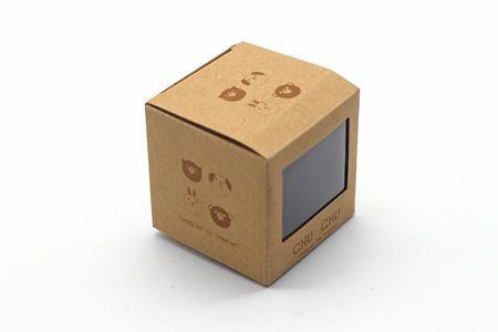 Custom Logo Printing Folding Kraft Paper Corrugated Package Shipping Box Cardboard Mailer Box