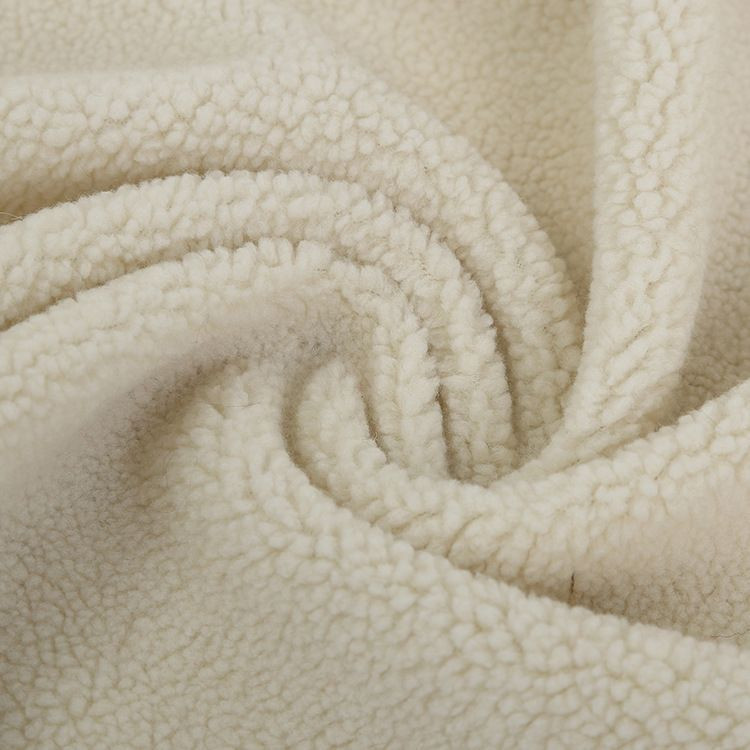 Sherpa Sherpa bonded with polar fleece fabric for cloth and quilt