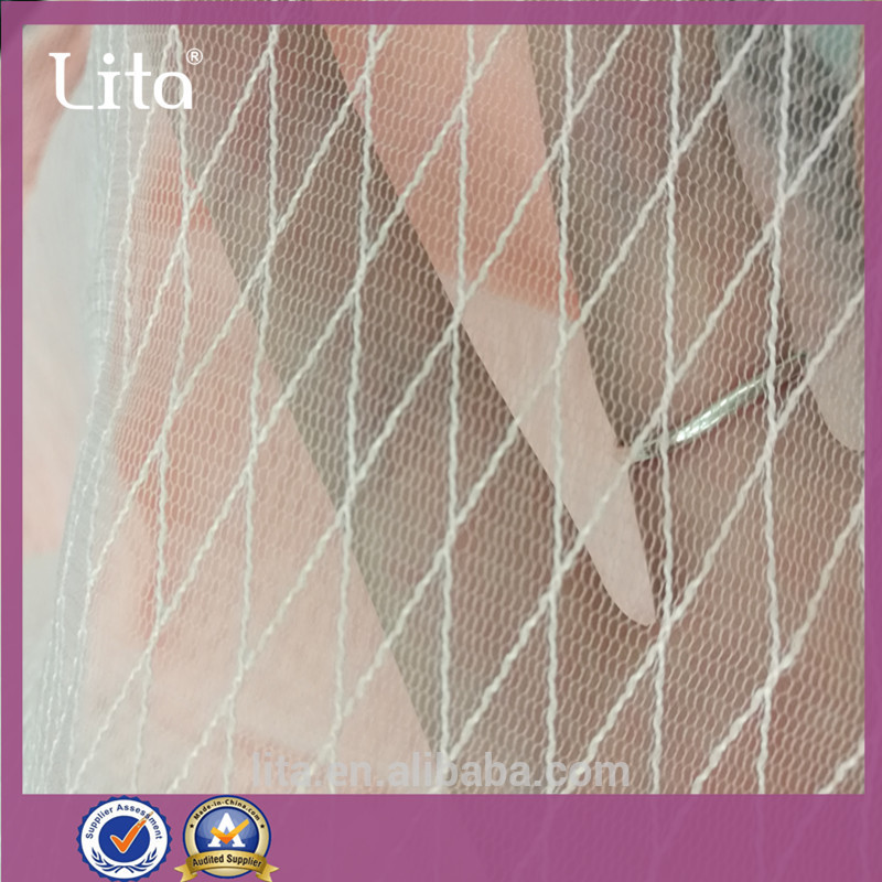 Lita J220140# 100% nylon mesh fabric good quality net fabric cheap price tulle