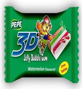 3D Jelly gum