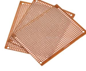 7x9 7*9cm Single Side Prototype PCB Universal Board 7CMx9CM Experimental Bakelite Copper Plate Circuit Board yellow