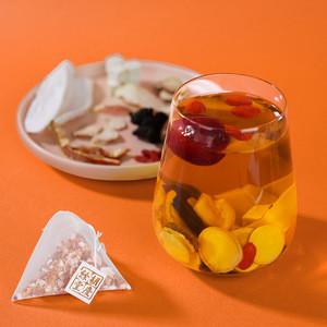 9 Kinds of Chinese Traditional Medicine Formula Jujube Tea Golden Color Organic Health Herbal Tonic Ginseng Tea Bag
