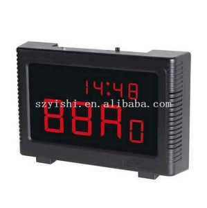 99ch wireless restaurant pager system with time display HW-ZJ45B Wireless calling system