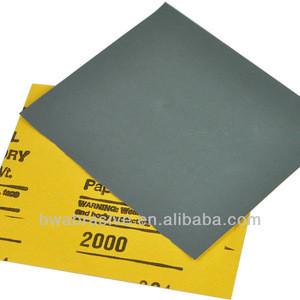 "9""x11"" waterproof abrasive for car,wood, metal surface paper"
