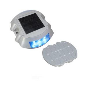 Aluminum Alloy body material Flashing Solar LED Traffic Sign Security Light Road Stud Decor Light