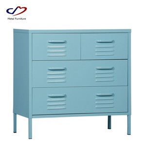 Bedroom Chest of Drawers for Clothes Living Room Unit Storage Cabinet with 4 Drawers for Hallway Kid Room Organizer Cabinet