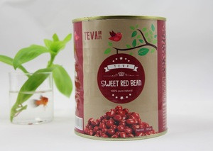 Canned sweet red bean