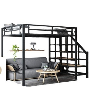 Cheap loft wooden kids bunk bed children with desk for sale children bed with desk bunk bed with desk