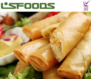 Chinese Frozen vegeterian spring roll Wholesale