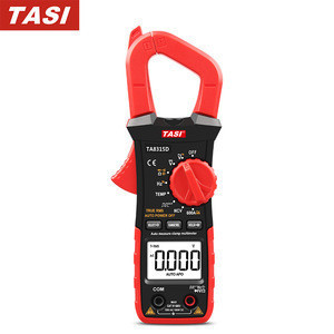 Clamp Meter Automatic Range AC DC Digital Clamp Multimeter With Capacitance Temperature NCV Frequency Tester TA8315A