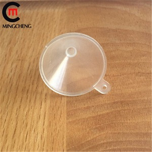 Clear mini small pp plastic cosmetic funnel for small bottle manufacturer